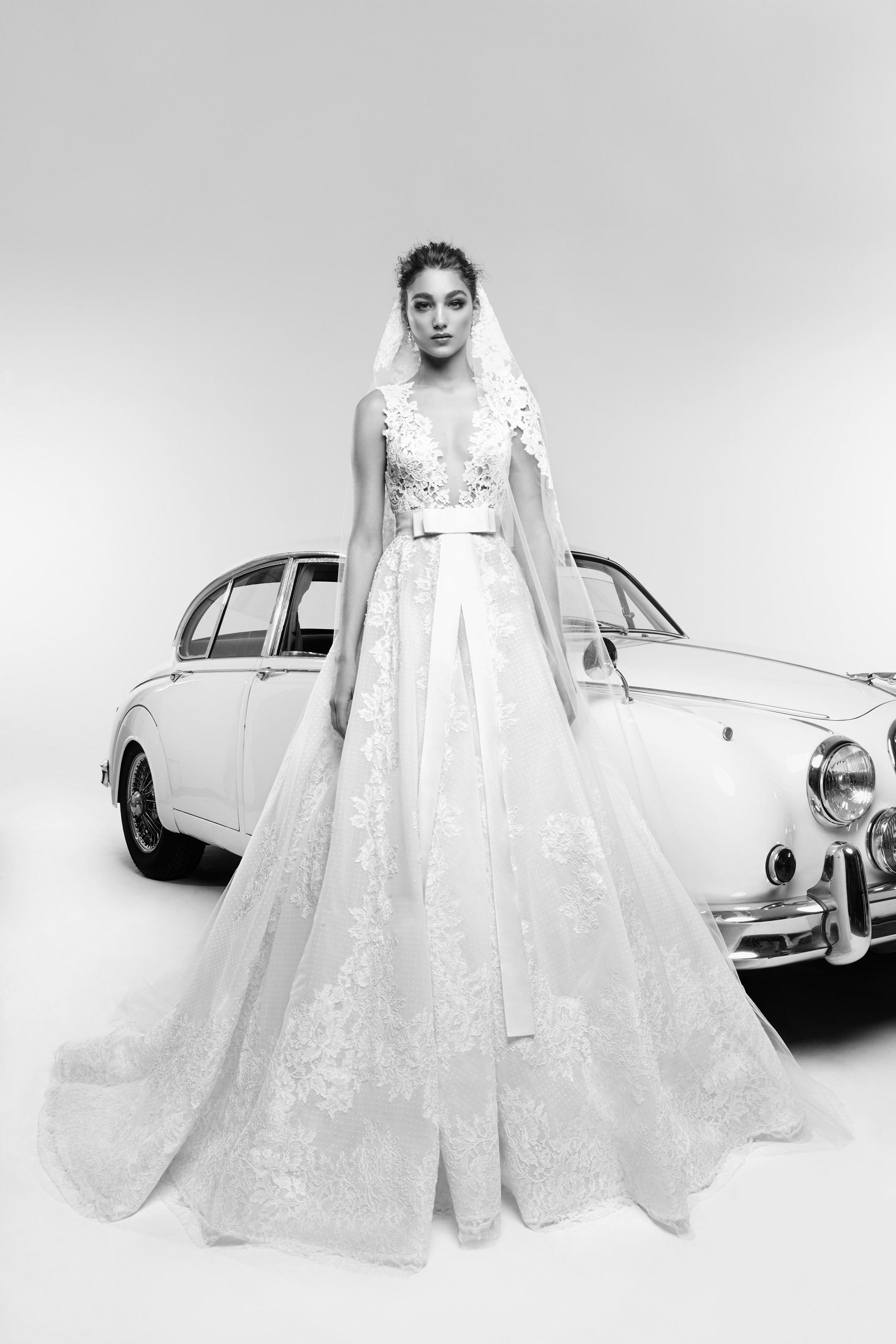 بالصور فساتين زفاف زهير مراد 2019 , فساتين زفاف زهير مراد واجمد فساتين 5814 14