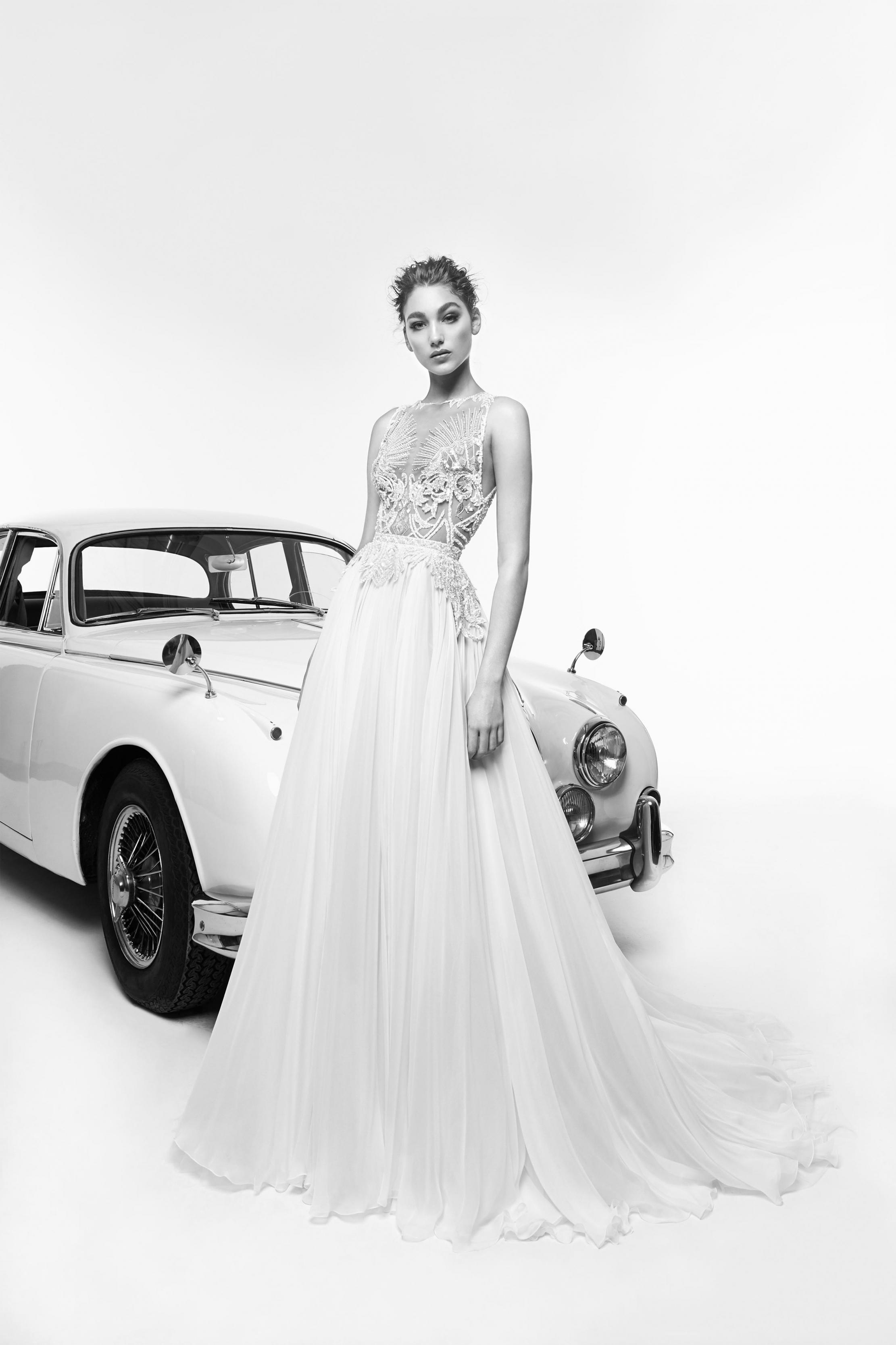 بالصور فساتين زفاف زهير مراد 2019 , فساتين زفاف زهير مراد واجمد فساتين 5814 3