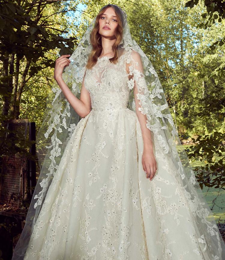 بالصور فساتين زفاف زهير مراد 2019 , فساتين زفاف زهير مراد واجمد فساتين 5814 4