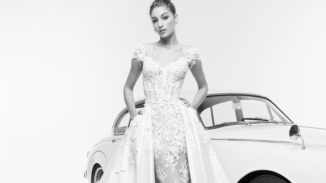 بالصور فساتين زفاف زهير مراد 2019 , فساتين زفاف زهير مراد واجمد فساتين 5814 5