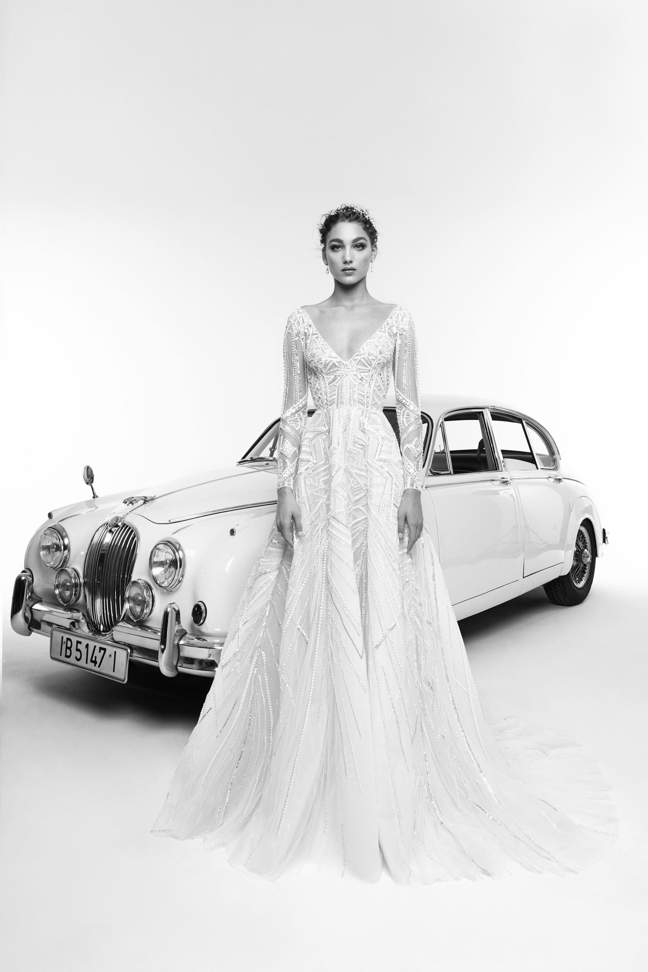 بالصور فساتين زفاف زهير مراد 2019 , فساتين زفاف زهير مراد واجمد فساتين 5814 8