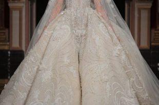 صورة فساتين اعراس فخمه , افخم الفساتين البيضاء لليله العمر