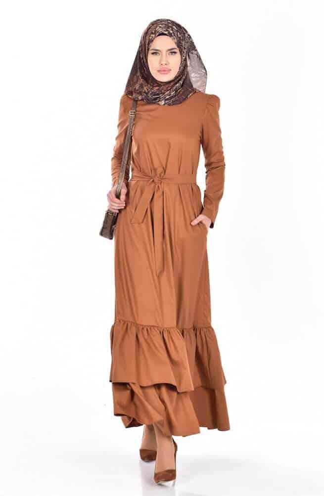 بالصور فساتين للمحجبات , الحجاب واجمل الفساتين 1606 9