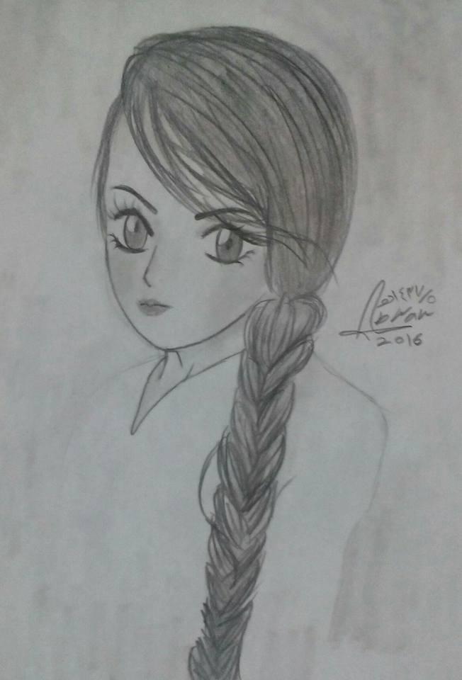 بالصور رسومات بنات حلوه , فن جميل ان نتمكن من رسومات بنات حلوه 1609 13