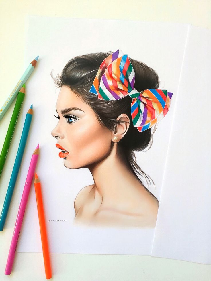 بالصور رسومات بنات حلوه , فن جميل ان نتمكن من رسومات بنات حلوه 1609 17