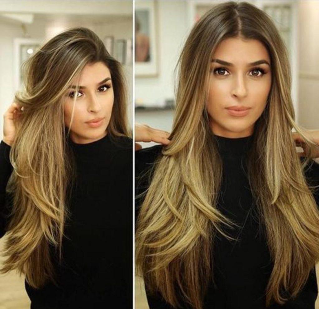 بالصور تسريحات شعر طويل 2019 , الشعر الطويل واجدد 1697 2