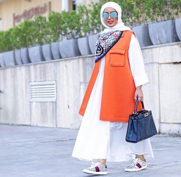 بالصور فساتين طويلة للمحجبات , فستان طويل مناسب للحجاب 5334 1