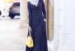 بالصور فساتين طويلة للمحجبات , فستان طويل مناسب للحجاب 5334 2 110x75