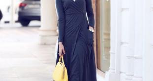 بالصور فساتين طويلة للمحجبات , فستان طويل مناسب للحجاب 5334 2 310x165