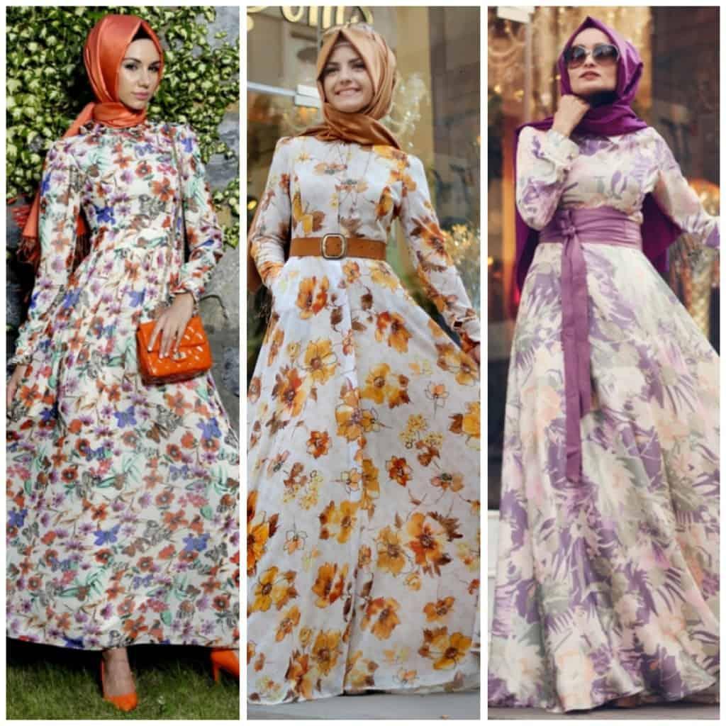 بالصور فساتين طويلة للمحجبات , فستان طويل مناسب للحجاب 5334 6