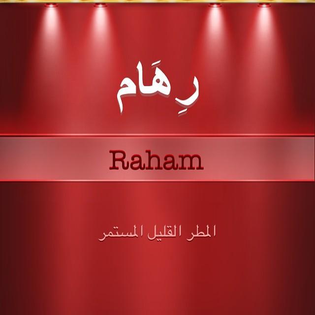 بالصور معنى اسم رهام , رهام ومعنى الاسم وصقات حامله هذا الاسم 5397 7