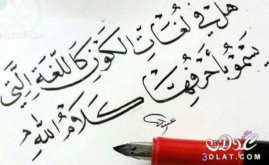شعر عن جمال اللغة العربية قصير