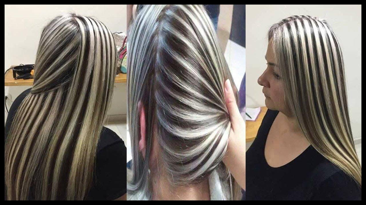 صورة ميش على شعر اسود , اسهل طريقة لتشقير للشعر