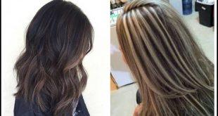 صور ميش على شعر اسود , اسهل طريقة لتشقير للشعر