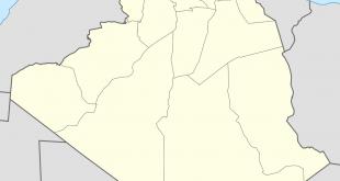 صورة خريطة الشلف مفصلة , موقعها التاريخى الجغرافى