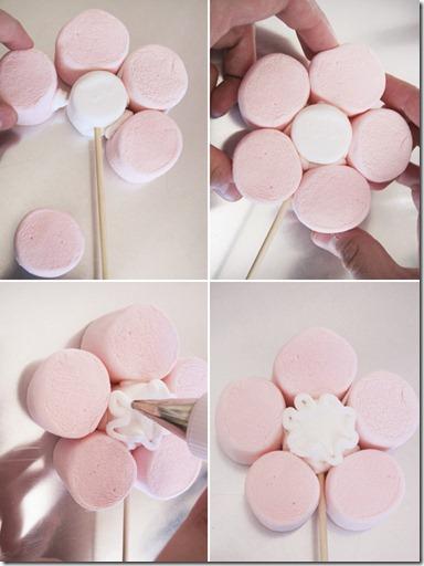 بالصور طريقة عمل ورد لتزيين الكيك بسهولة , بعجينة السكر اصنعي احلى ورد لتزين الكيك 11353 7