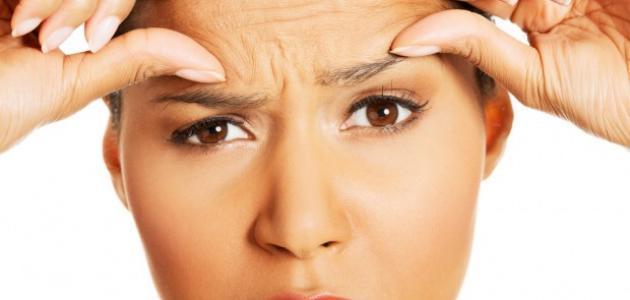 صور تخلص من تجاعيد الوجه , كيفية التخلص من تجاعيد الوجه