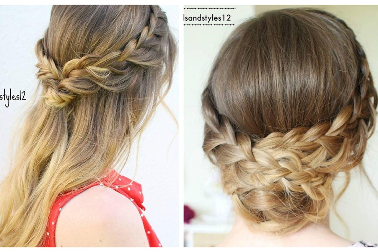 صورة تسريحات شعر جميلة وبسيطة , اجمل تسريحات شعر رائعة لكي يا سيدتي