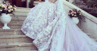 تصاميم فساتين زفاف , احلى فساتين الزفاف الرائعة واشيك التصاميم