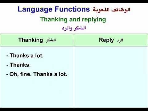 صورة الرد على شكرا بالانجليزي , كيف ارد على من كلمة thank you بالانجليزية