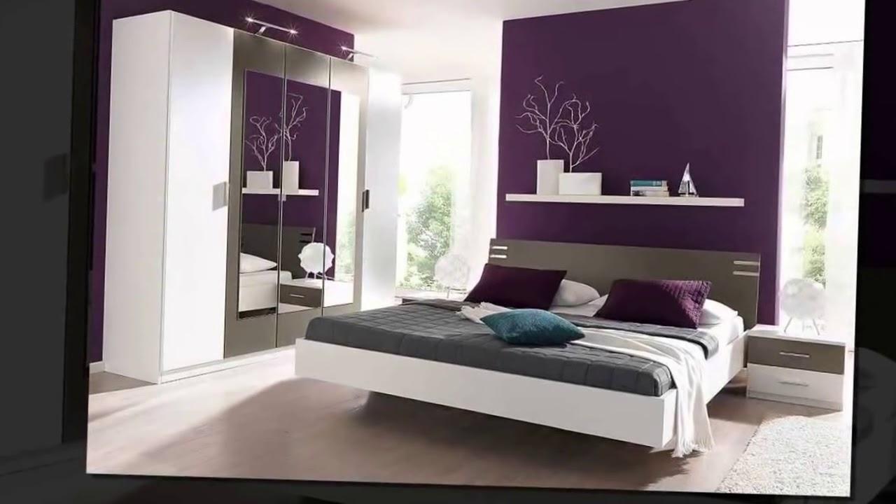صورة غرف نوم باللون البنفسجي , اشكال موديلات غرف نوم باللون البنفسجي 12177 6