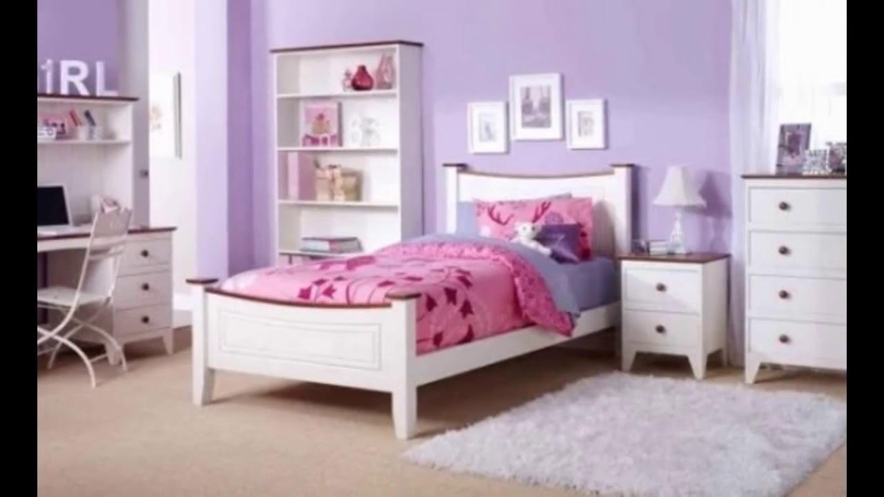 صور غرف نوم باللون البنفسجي , اشكال موديلات غرف نوم باللون البنفسجي