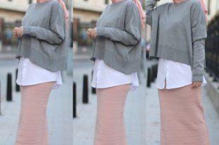 صورة صور ملابس محجبات , فاشنيستا بالحجاب شيك