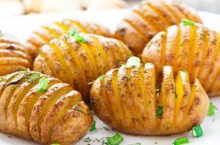 صور طريقة عمل بطاطا في الفرن , اسهل وصفة لعمل البطاطا الخفيفة بدون زيت