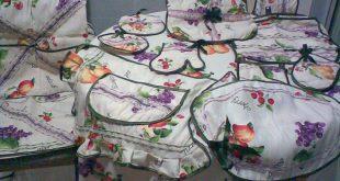 صور خياطة اكسسوارات المطبخ المغربي , المطبخ المغربي اكسسوارته وطرق صنعها