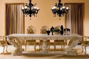 صورة احدث غرف سفرة كلاسيك , تشكيلة من الغرف الكلاسيكية للسفرة