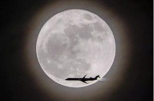 صورة الصور عن القمر , شاهد القمر في كل اوضاعه