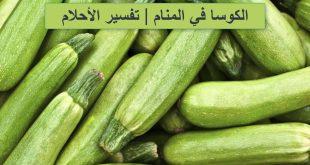 صورة تفسير حلم الكوسا الخضراء , ماذا تعني الكوسا في الحلم لكنها خضراء