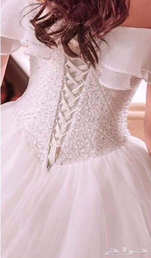 صورة فستان عروس ناعم , احلى فستان عرس رقيق وجميل