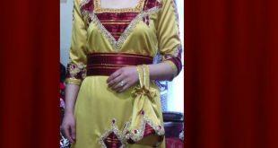 صور فساتين قبائلية بالسروال , تالقي باجمل الفساتين القبائلية على الاطلاق