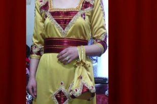 صورة فساتين قبائلية بالسروال , تالقي باجمل الفساتين القبائلية على الاطلاق
