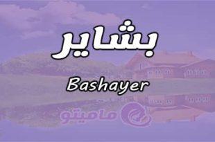 صور معنى اسم بشاير , ماذا تعرف عن بشاير المعنى والمدلول