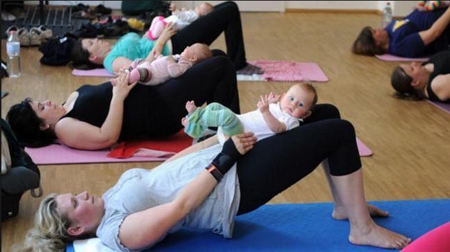 صورة تمارين شد البطن بعد الولادة , تدريبات رياضيه للمراه بعد الانجاب