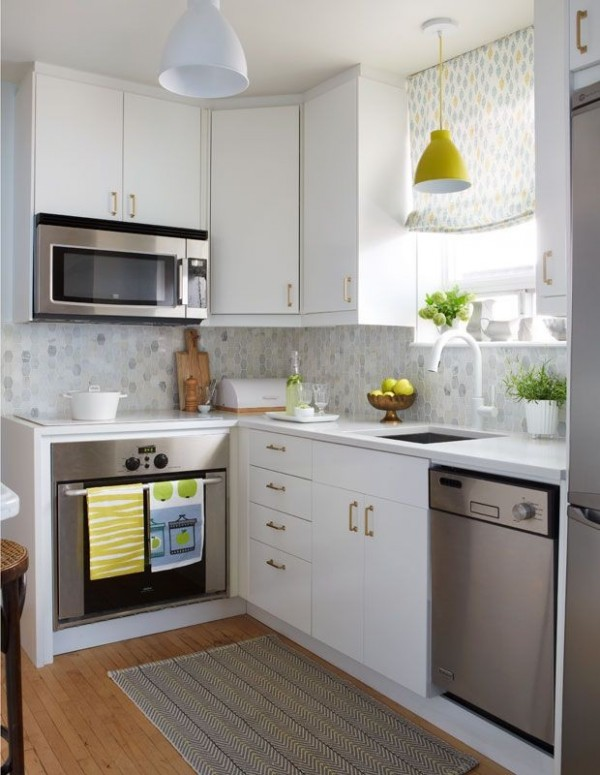 صور تصميم مطابخ صغيرة , افكار واشكال مطابخ بسيطه