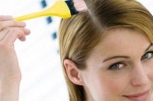 صورة كيفية صبغ الشعر , طريقه تلوين الشعر فى البيت
