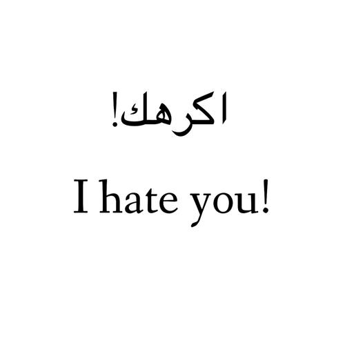 صورة صور عن الكره , رمزيات عن البغض