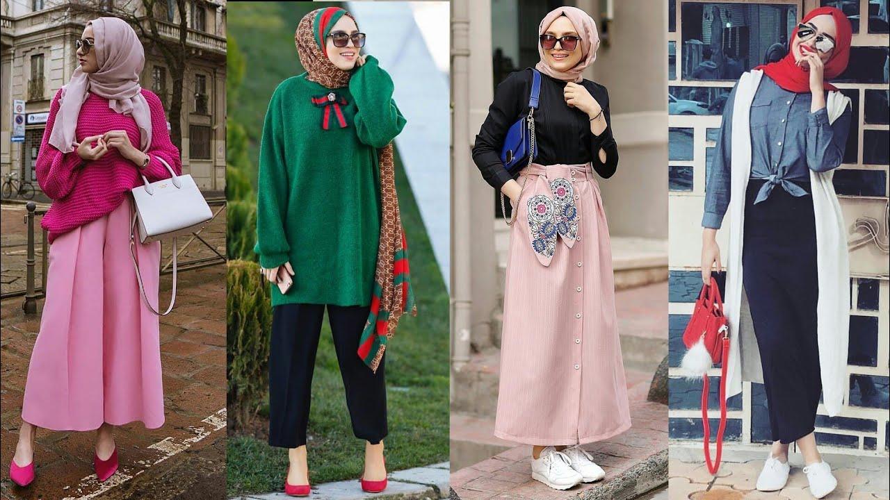 صورة لبس بنات محجبات , احدث صيحات الموضه للمحجبات