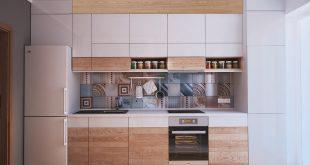 صورة تصاميم مطابخ صغيرة وبسيطة , مطابخ حديثه وعصريه باحجام مناسبه