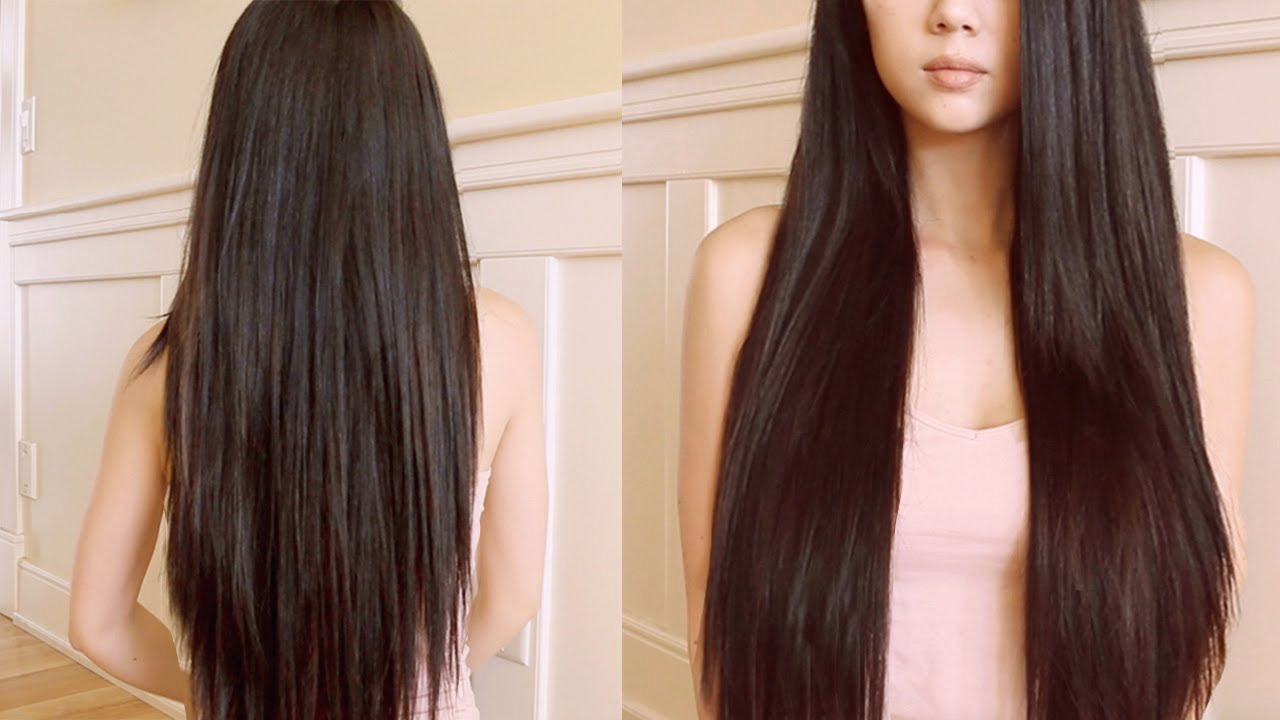 صورة خلطات لتطويل الشعر , اروع الوصفات لتطويل الشعر