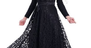 صورة فصالات اسود 2019 , جمال اللون الاسود في الملابس