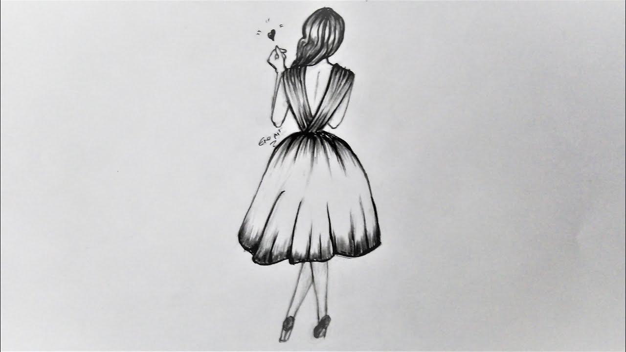 رسومات بنات سهله رسومات رائعة للمبتدئين مساء الورد