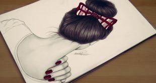 صورة رسومات بنات سهله , رسومات رائعة للمبتدئين