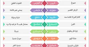 صورة كلمات عربية , كلمات غريبة باللغة العربية
