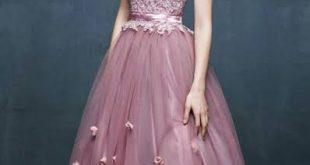 صورة احدث موديلات الفساتين , تالقي بين الجميع