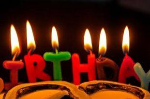 صورة اجمل تهنئة عيد ميلاد , يوم ميلادك احلي يوم