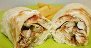 صورة وصفات شهيه للاكلات السوريه , طريقة شاورما الدجاج